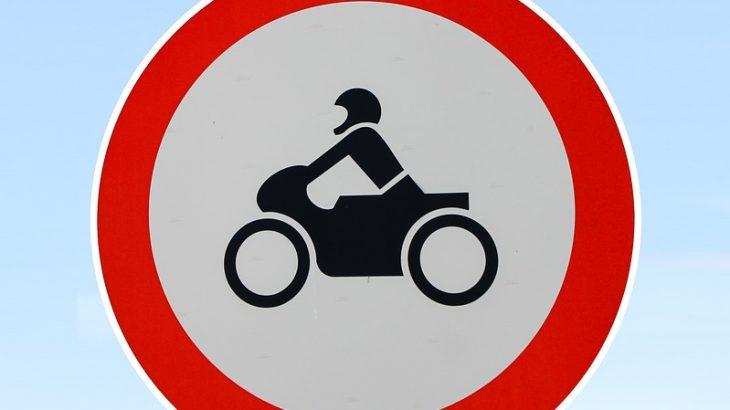 Verbot für Motorräder