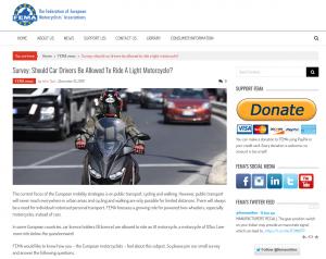 Screenshot Umfrage FEMA Autoführerschein
