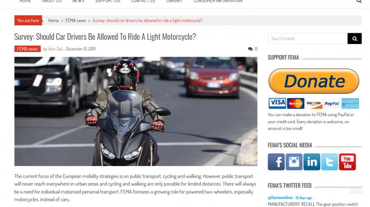 motorradfahren mit autoführerschein