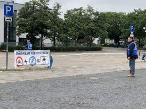 04.07.2020 Eine der vielen Demos. Oldenburg.