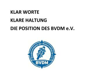 Der BVDM e.V. und Silent Rider: Eine Klarstellung